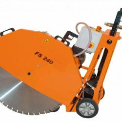 HIRE 600MM FLOOR SAW ELECTRIC CUTS 240MM
