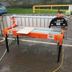 HIRE BRIDGE SAW 1200 x 110MM TILE CUTTER