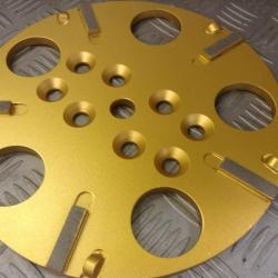 DIAMOND GRINDING PLATE PCD COMBINATION PLATE