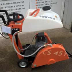 HIRE 450MM FLOOR SAW ELECTRIC CUTS 162MM