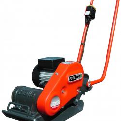 HIRE ELECTRIC COMPACTOR PLATE 380MM x 364MM