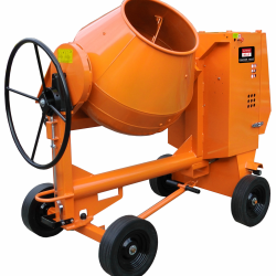 M60 HIRE LARGE ELECTRIC SITE MIXER 110V 32AMP