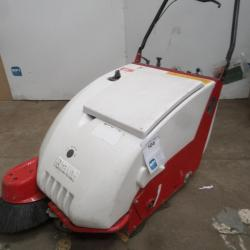 C51 HIRE PEDESTRIAN SWEEPER 600MM BATTERY WALK BEHIND