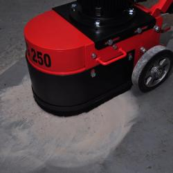 HIRE FLOOR GRINDER SINGLE HEAD 110V TCG250 HEAVY