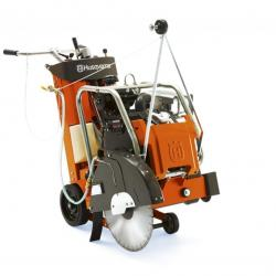 HIRE 600MM FLOOR SAW PETROL CUTS  241MM - 9.48""